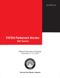 FAFEN Parliament Monitor National Assembly of Pakistan 48th Session Report