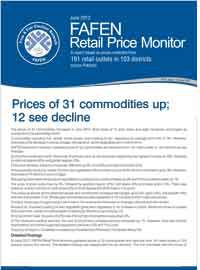 Prices of 31 Commodities Went Up in June