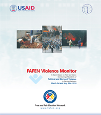 FAFEN Violence Monitor Political and Electoral Violence in Pakistan Report