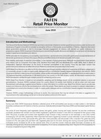 A report based on prices collected at retail outlets to 136 town of 87 districts in Pakistan