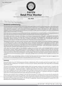 A Report based on prices collected at retail outlets in 129 town of 80 districts in Pakistan