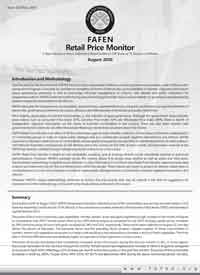 A report based on prices collected at retail outlet in 118 town of 76 districts in Pakistan