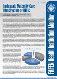Inadequate Maternity Care Infrastructure at BHUs