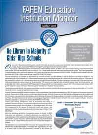 No Library in Majority of Girls High Schools
