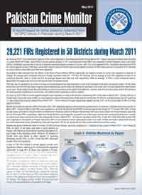 29,221 FIRs Registered in 50 Districts during March 2011