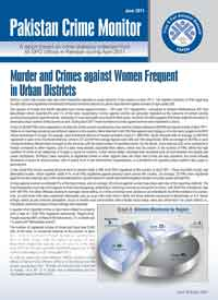 Murder and Crimes against Women Frequent in Urban Districts