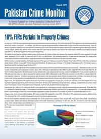 18% FIRs Pertain to Property Crimes