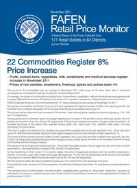 22 Commodities Register 8% Price Increase
