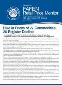 Hike in Price of 27 Commodities; 20 Register Decline