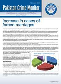 Increase in Cases of Forced Marriages