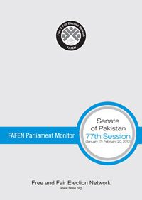 FAFEN Parliament Monitor Senate of Pakistan 77th Session Report