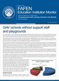 Girls Schools Without Support Staff, Playgrounds