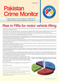 Rise in FIRs for motor vehicle lifting
