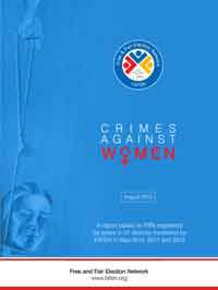 Crimes against Women Increase By 7% in a Year