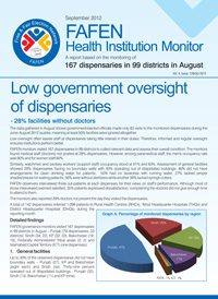 Low Government Oversight of Dispensaries
