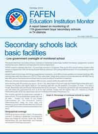 Secondary Schools Lack Basic Facilities