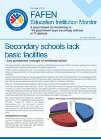 Secondary Schools Lack Basic Facilities