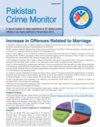 Increase in Offences Related to Marriage