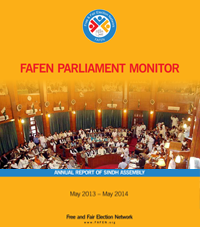 Sindh Annual Report Archives - Free and Fair Election Network