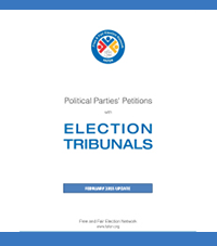 Political Parties' Petitions with Election Tribunals February 2015 Update