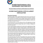 FAFEN's-Preliminary-Observation-Findings-of-the-KP-Local-Government-Elections-2015