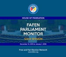 FAFEN Parliament Monitor Senate of Pakistan 122nd Session Report