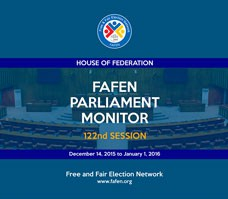 FAFEN Parliament Monitor Senate of Pakistan 122nd Session Report