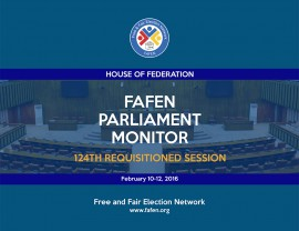 FAFEN Parliament Monitor Senate of Pakistan 124th Session Report