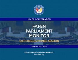FAFEN Parliament Monitor Senate of Pakistan 124th Session Report