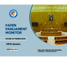 FAFEN Parliament Monitor Senate of Pakistan 247th Session Report