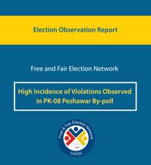 FAFEN PK-08-Peshawar-by-poll