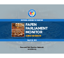 FAFEN Parliament Monitor National Assembly of Pakistan 32nd Session Report