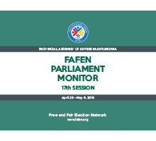 FAFEN Parliament Monitor Provincial Assembly of Khyber Pakhtunkhwa 17th Session Report