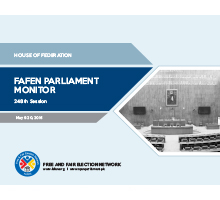 FAFEN Parliament Monitor Senate of Pakistan 248 Session Report web
