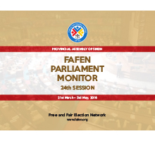 FAFEN Parliament Sindh Assembly 24th Session Report