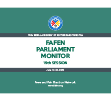 FAFEN Parliament Monitor 19th Session Report  KP Assembly