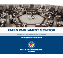 FAFEN Parliament Monitor Balochistan Assembly 30th Session Report