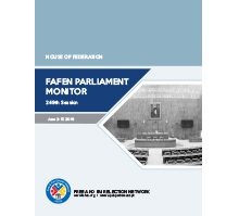FAFEN Parliament Monitor Senate of Pakistan 249th Session Report