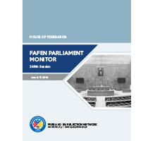 FAFEN Parliament Monitor Senate of Pakistan 249th Budget Session Report