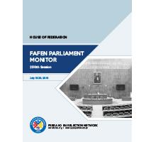 FAFEN Parliament Monitor Senate of Pakistan 250th Session Report 1
