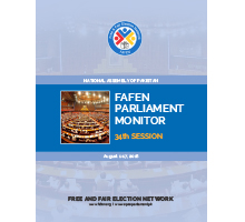 FAFEN Parliament Monitor 34th Session Report of National Assembly