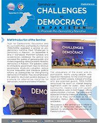 FAFEN Organizes Seminar on Challenges to Democracy