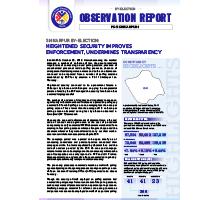 FAFEN Shikarpur By-Election Observation Report