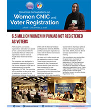 6.5M Women in Punjab Not Registered as Voters