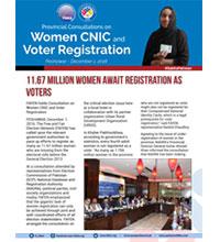 11.67M Women Await Registration as Voters