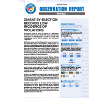 Ziarat By-election Records Low Incidence of Violations
