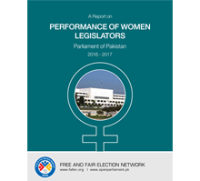 Women contribute 38% of Parliamentary Agenda during 2016-17