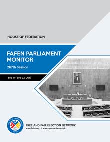 FAFEN-Senate-267th-Session-Report-1