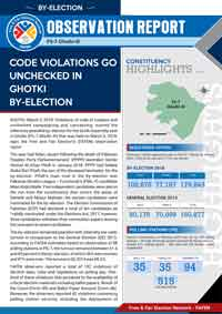 Code Violations Go Unchecked in Ghotki By-election