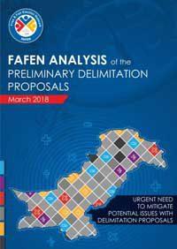 Delimitation Proposals: FAFEN Identifies discrepancies in Size of Electoral Constituencies